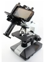 Наиболее удобный способ фотосъемки с микроскопа – подключение смартфона