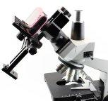 Цифро-«мыльница» в адаптере для микроскопа: объектив выдвинут, вид сбоку