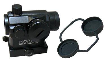 Коллиматорный прицел со съемными крышками на объектив и окуляр
