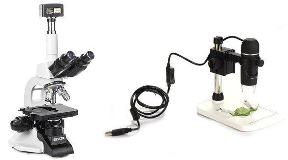 Микроскопы для получения цифровых изображений