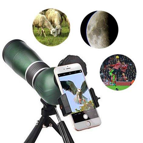 Универсальная подзорная труба для туризма, просмотра спортивных событий и наблюдений за природой
