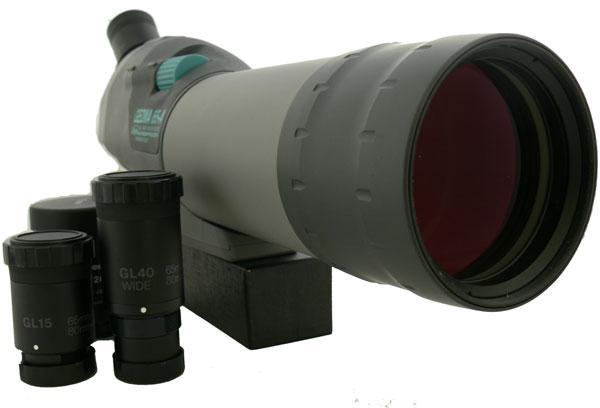 Подзорная труба с набором сменных окуляров