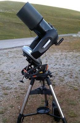 Телескоп после апгрейда монтировки до экваториальной