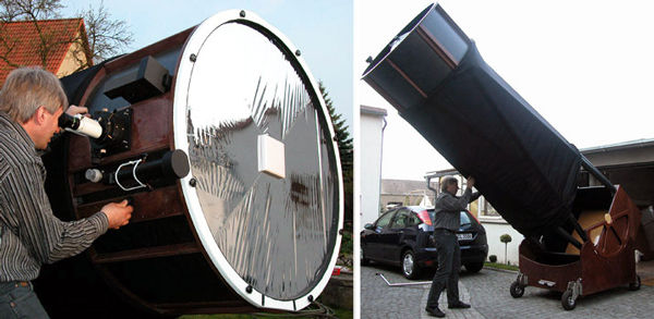 Крупноапертурный телескоп доктора Эрхарда Хэнссгена, D=107 см