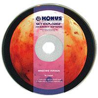 Диск KONUS с ПО Sky Explorer для телескопа