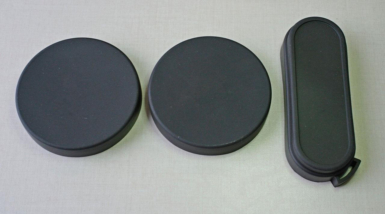 Крышки на объективы и окуляры бинокля Konus Giant 15х70
