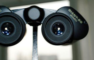 Окуляры бинокля Konus Giant 20х60 с резиновыми наглазниками фиксированной высоты