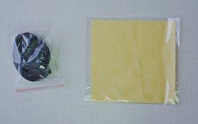 Ремешок и салфетка для протирки оптики