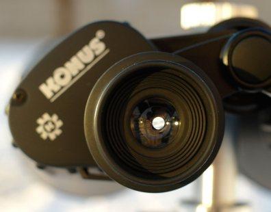 Окуляр бинокля Konus Giant 20х80 с фиксированным наглазником