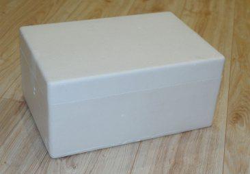 Внутренняя пенопластовая упаковка бинокля Konus Giant 20х80