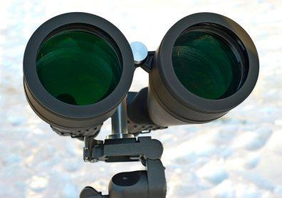 Многослойное просветление линз объективов бинокля Konus Giant 20х80