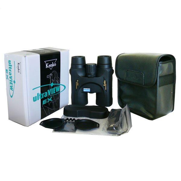 Комплектация биноклей KENKO Ultra VIEW 8x42, 10x42 DH