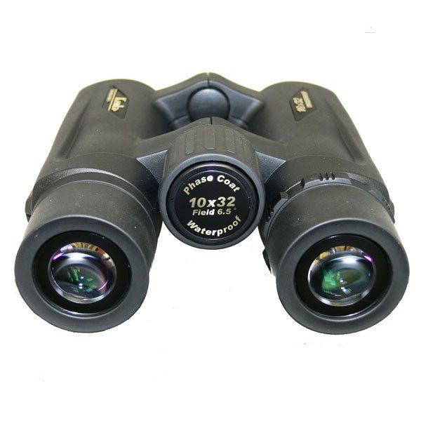 Призмы Roof бинокля KENKO Ultra VIEW 10x32 имеют фазовое покрытие