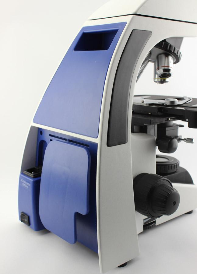 Пластиковая крышка с тыльной стороны микроскопа Sigeta Biogenic 40x-2000x LED Trino Infinity