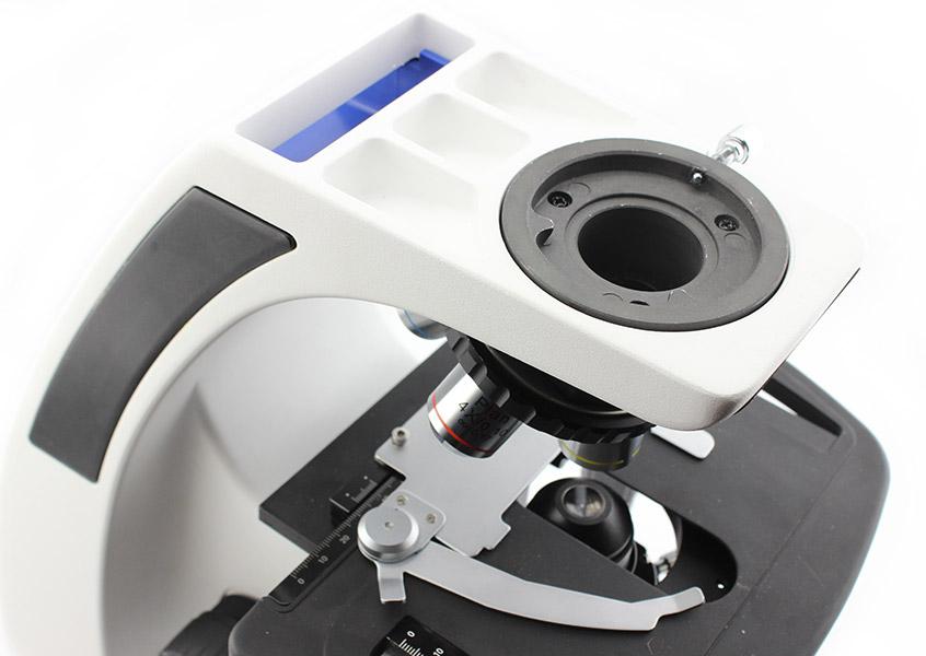 Разъем для крепления окулярной головы микроскопа Sigeta Biogenic 40x-2000x LED Trino Infinity