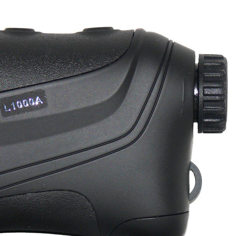 Полимерный корпус дальномера Sigeta iMeter с гладкими и рифлеными поверхностями