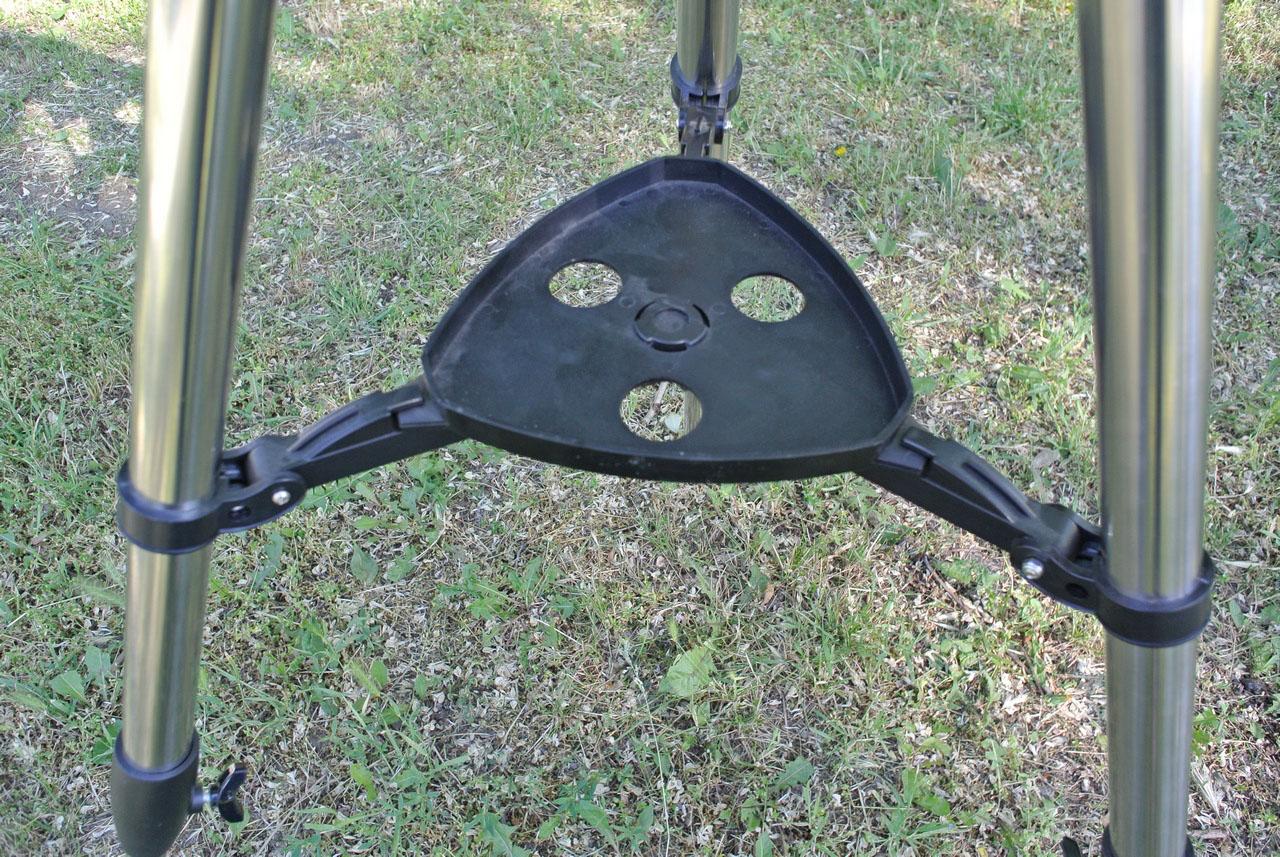 Пластиковая стяжка-полочка для ног телескопа Mensa