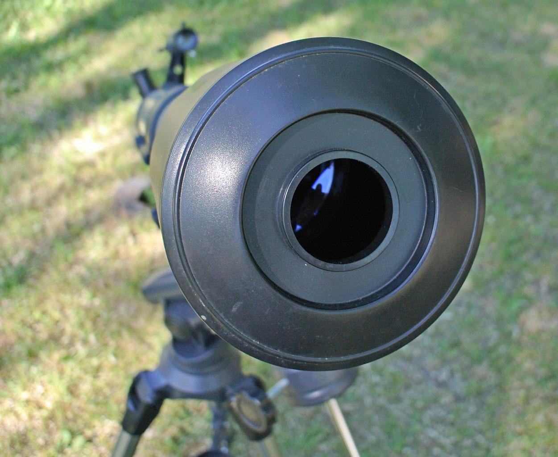 Отверстие в крышке для бленды телескопа Mensa