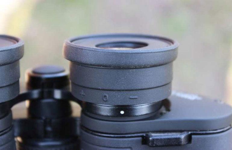 Разметка на окуляре с коррекцией диоптрий, бинокль  Arsenal 15х70 Porro