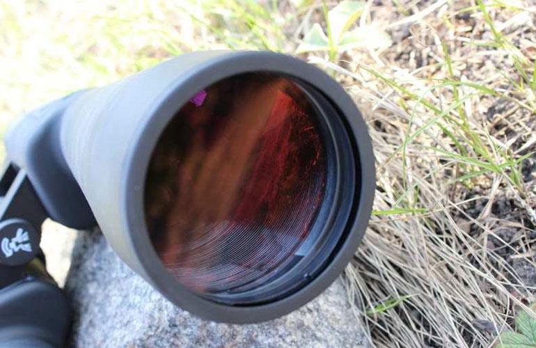 Объектив астрономического бинокля Arsenal 15х70 Porro