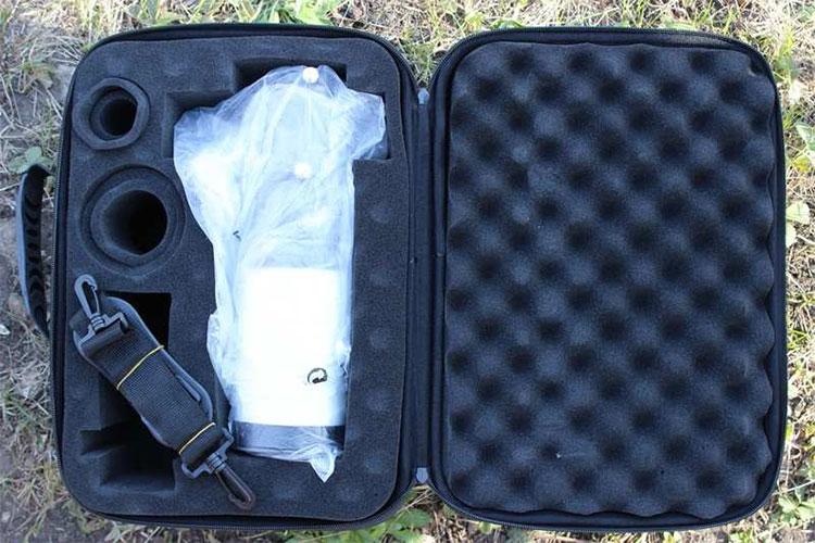 Ударобезопасный кейс телескопа Arsenal 70 ED с отделениями для окуляров