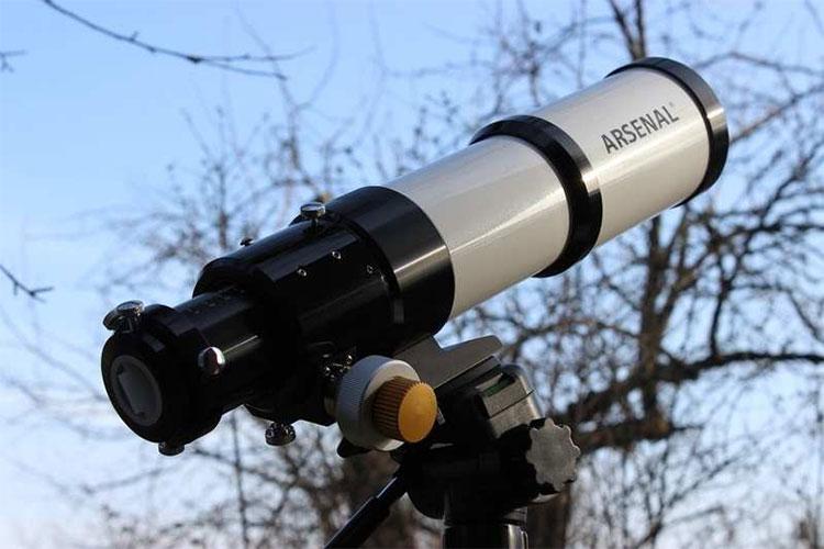 Телескоп Arsenal 70 ED на азимутальной монтировке