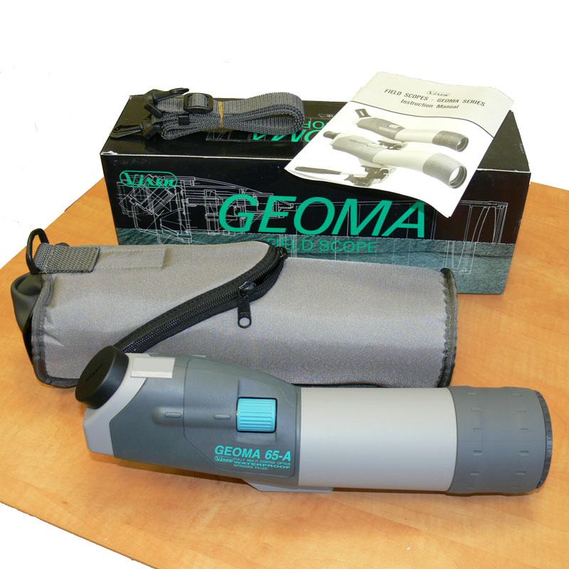 Комплектация зрительной трубы Vixen Geoma 65A