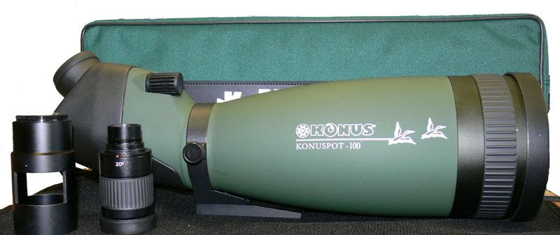 Подзорная труба Konus Konuspot-100, комплектация
