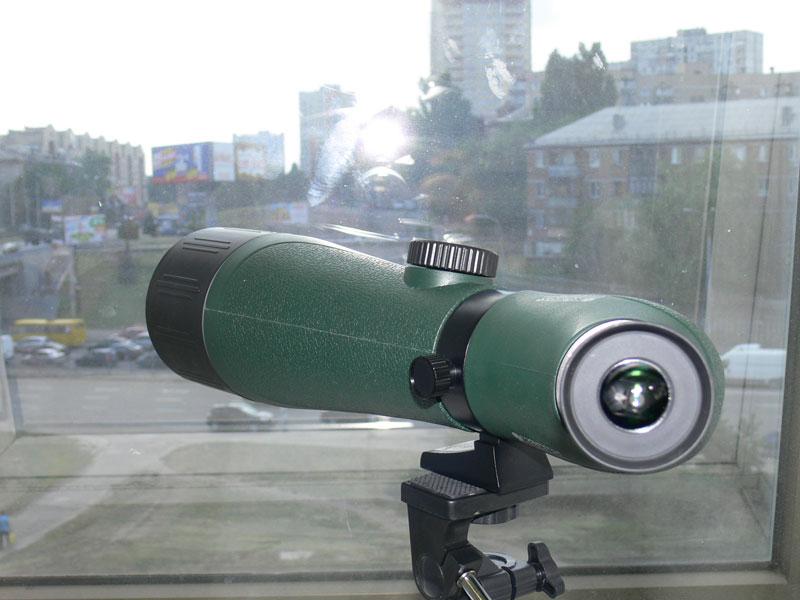 Подзорная труба Konus Konuspot-70, вид со стороны окуляра