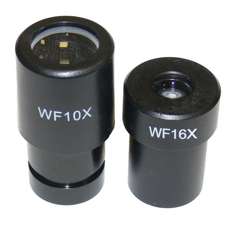 Широкоугольные окуляры WF из комплекта микроскопа Sigeta MB-111