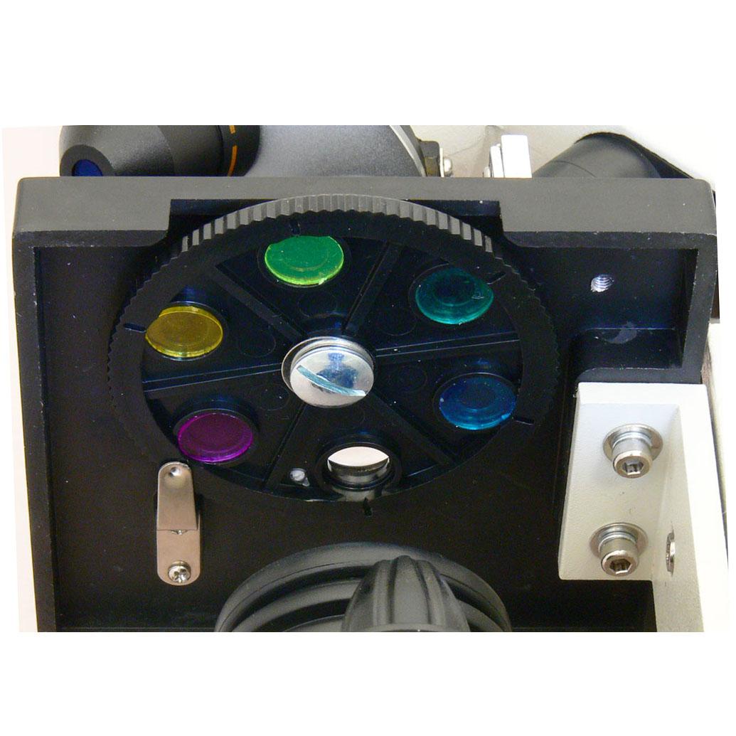 Кольцевая диафрагма со светофильтрами - микроскоп Sigeta MB-111