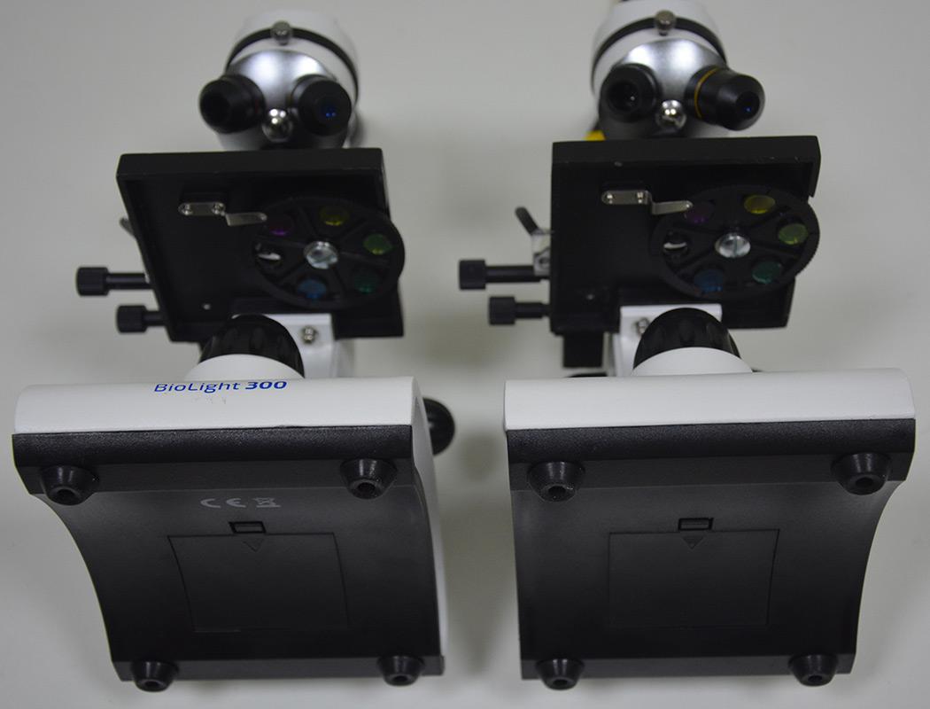 Отсеки питания микроскопов SIGETA Bionic 64x-640x и Delta Optical Biolight 300