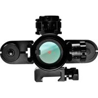 BARSKA 1x30 Multi-Rail Sight with Flashlight & Laser Коллиматорный прицел по лучшей цене