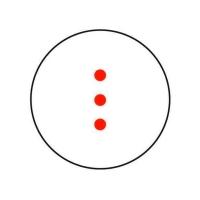 BARSKA 1x 30 Red 3 Dot Crossbow Коллиматорный прицел купить в Киеве