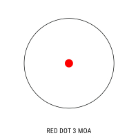 HAWKE Micro Reflex Dot 3 MOA WP DC (Weaver)  Коллиматорный прицел с гарантией