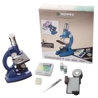 KONUS KONUSTUDY-4 (100x, 450x, 900x) (с адаптером для смартфона) Микроскоп