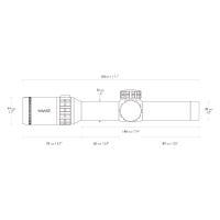 HAWKE Frontier 30 1-6x24 (L4A IR Dot) Оптический прицел