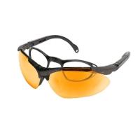 Стрелковые очки KONUS SHOOTING-3 (оранжевые)