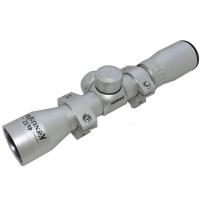 Оптический прицел KONUS KONUSPRO 4x32  30/30 (с кольцами, серебристый)