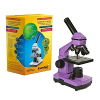 Микроскоп LEVENHUK Rainbow 2L NG Amethyst (аметист) (64-640x)