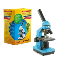 Микроскоп LEVENHUK Rainbow 2L NG Azure (лазурь) (64-640x)