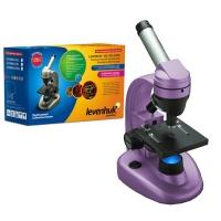 Микроскоп LEVENHUK Rainbow 50L NG (аметист) (40-1280x)