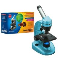 Микроскоп LEVENHUK Rainbow 50L NG (лазурь) (40-1280x)