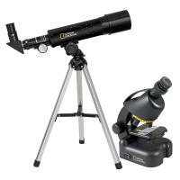 Микроскоп NATIONAL GEOGRAPHIC Junior 40x-640x + Телескоп 50/360