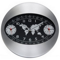 Настенные часы KONUS Movale (черные)
