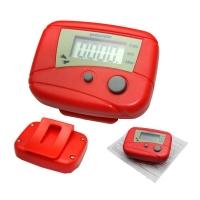 Шагомер SIGETA PMT-01 (красный)