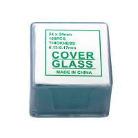 SIGETA Покровные стекла 24x24мм (100 шт)