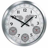 Настенные часы KONUS Terrano с металлическим корпусом