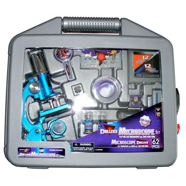 купить Микроскоп  MICROSCIENCE 62 предмета (в кейсе)