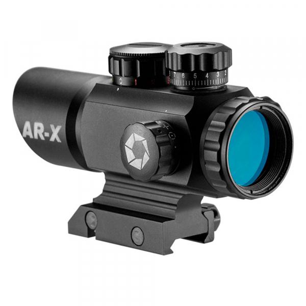 купить Коллиматорный прицел BARSKA Multi Reticle AR-X 1x35 (Picatinny)